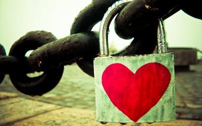 ¿Un candado representando el amor?